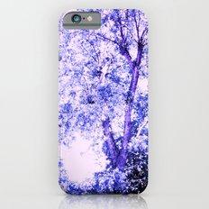 Blue trees iPhone 6s Slim Case