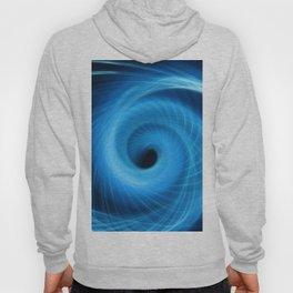 Eye Of The Storm Fiber Optic Light Painting Hoody
