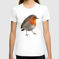 robin T-shirts featuring Robin by Freeminds