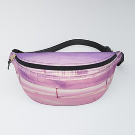 Pink winter city Fanny Pack