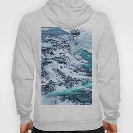 Gulfoss Waterfall Iceland Hoody