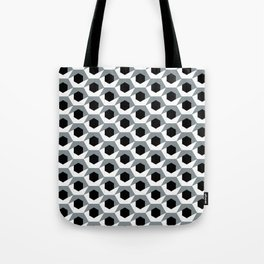 Hex shadow pattern  Tote Bag
