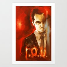 Jim Moriarty Art Print