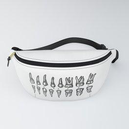 Teeth Dientes Dents Zähne зубы Fanny Pack