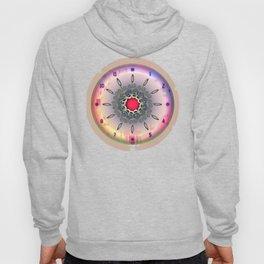 Time - Floral Clock Hoody