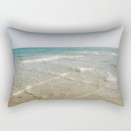 Two oceans meet Rectangular Pillow