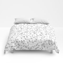 Equation Overload II Comforters