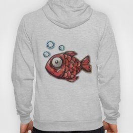 Red Fish Hoody
