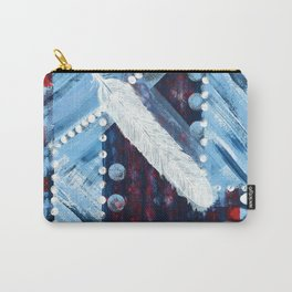 Fly Like A Feather Carry-All Pouch