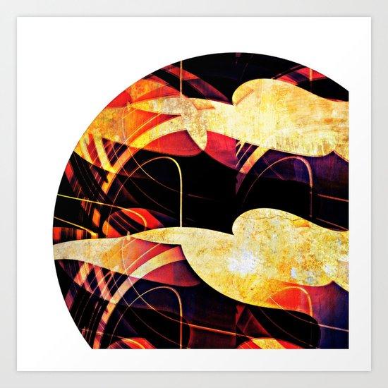 Towards the sun #II Art Print