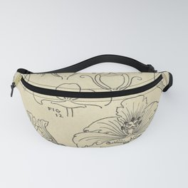 Flower Anatomy Fanny Pack