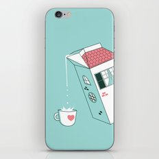Housepour iPhone & iPod Skin