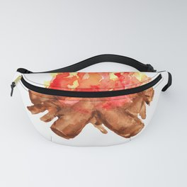 Lit Campfire Summer Camping Fanny Pack