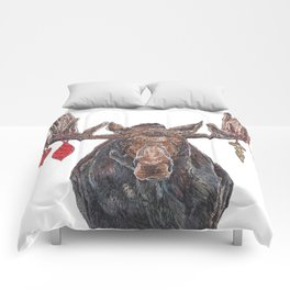 Moose with Baubles Comforters