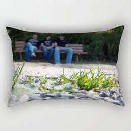 All Is Family Rectangular Pillow