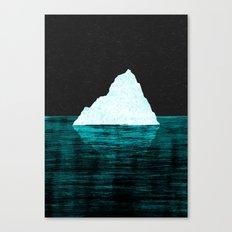 ICEBERG AHEAD! Canvas Print