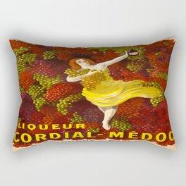 Vintage poster - Liqueur Cordial-Medoc Rectangular Pillow