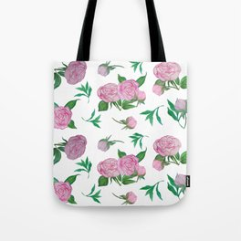 Peonies for loved ones Tote Bag