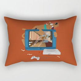 Horror Game Rectangular Pillow