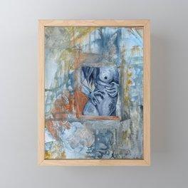 Flesh Framed Mini Art Print