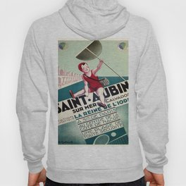 Vintage poster - Saint Aubin, France Hoody