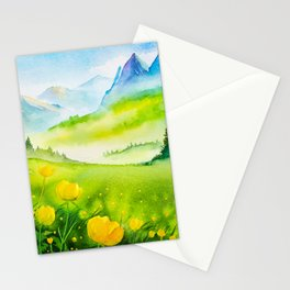 Spring scenery #5 Stationery Cards
