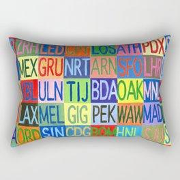 Frequent Flyer Rectangular Pillow