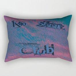 No Sleep Club Rectangular Pillow