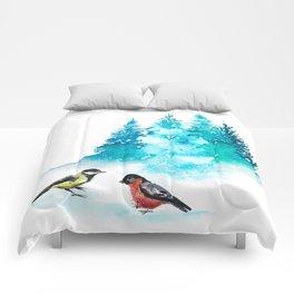 The Heart Of Winter Comforters