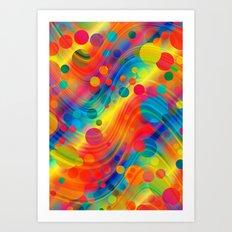 datastream 71 Art Print