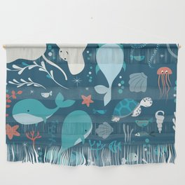 Sea creatures 004 Wall Hanging