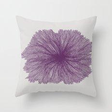 Jellyfish Flower A Throw Pillow