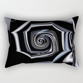 TGS Fractal Abstract in Winter Rectangular Pillow