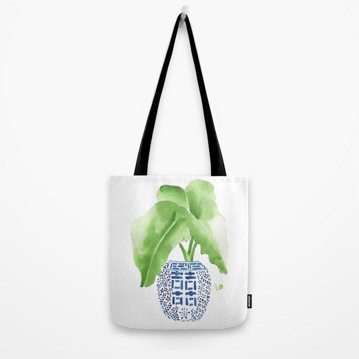 Ginger Jar + Elephant Ears Tote Bag