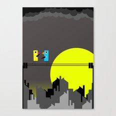 Small Talk Canvas Print