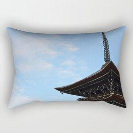 Pagoda in the Sky Rectangular Pillow
