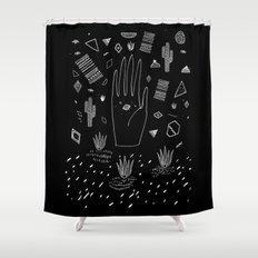 SPACE DREAMS Shower Curtain