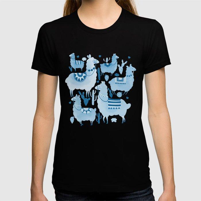 Alpacas and cacti T-shirt