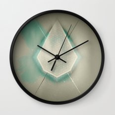 HEAL-IN(g) WATER(s) Wall Clock