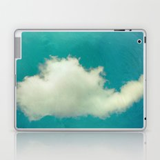 Genie in a Bottle.  Cloud Photography.  Turquoise Laptop & iPad Skin