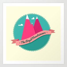 The Royal Mountaineers Art Print