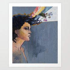 Evangeline Iris Art Print