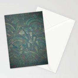 Blue Fans Stationery Cards