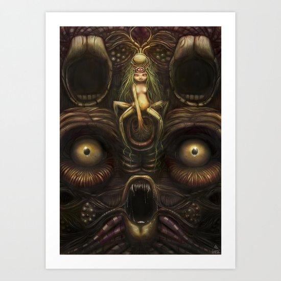 Ngen Art Print