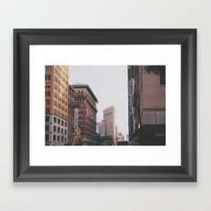 Flatiron building Framed Art Print
