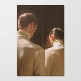 Turtle Necks Canvas Print