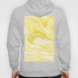 Yellow Glowing Marble Hoody