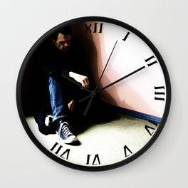 In the Corner #3 Wall Clock