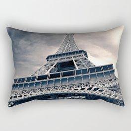 Towering Eiffel Tower Rectangular Pillow