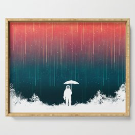 Meteoric rainfall Serving Tray